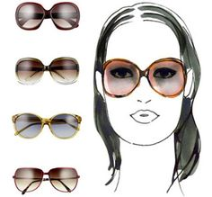 Sunglasses For square Shaped Face