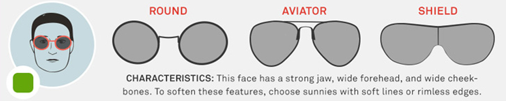 Face Shape Sunglasses4